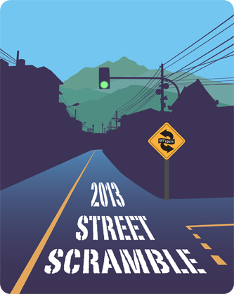 Mission Street Scramble shirt design