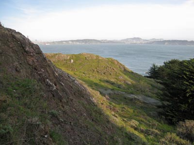 San Francisco terrain
