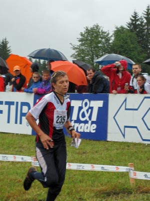 Runner at World Championships